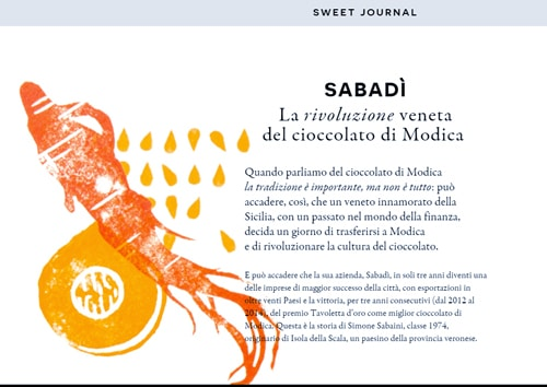 Sweet Journal - Monografico Cioccolato