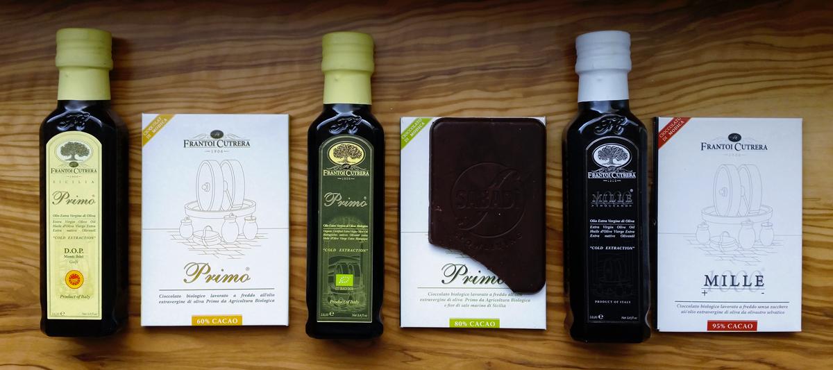 Cioccolato all'olio extra vergine di oliva biologico