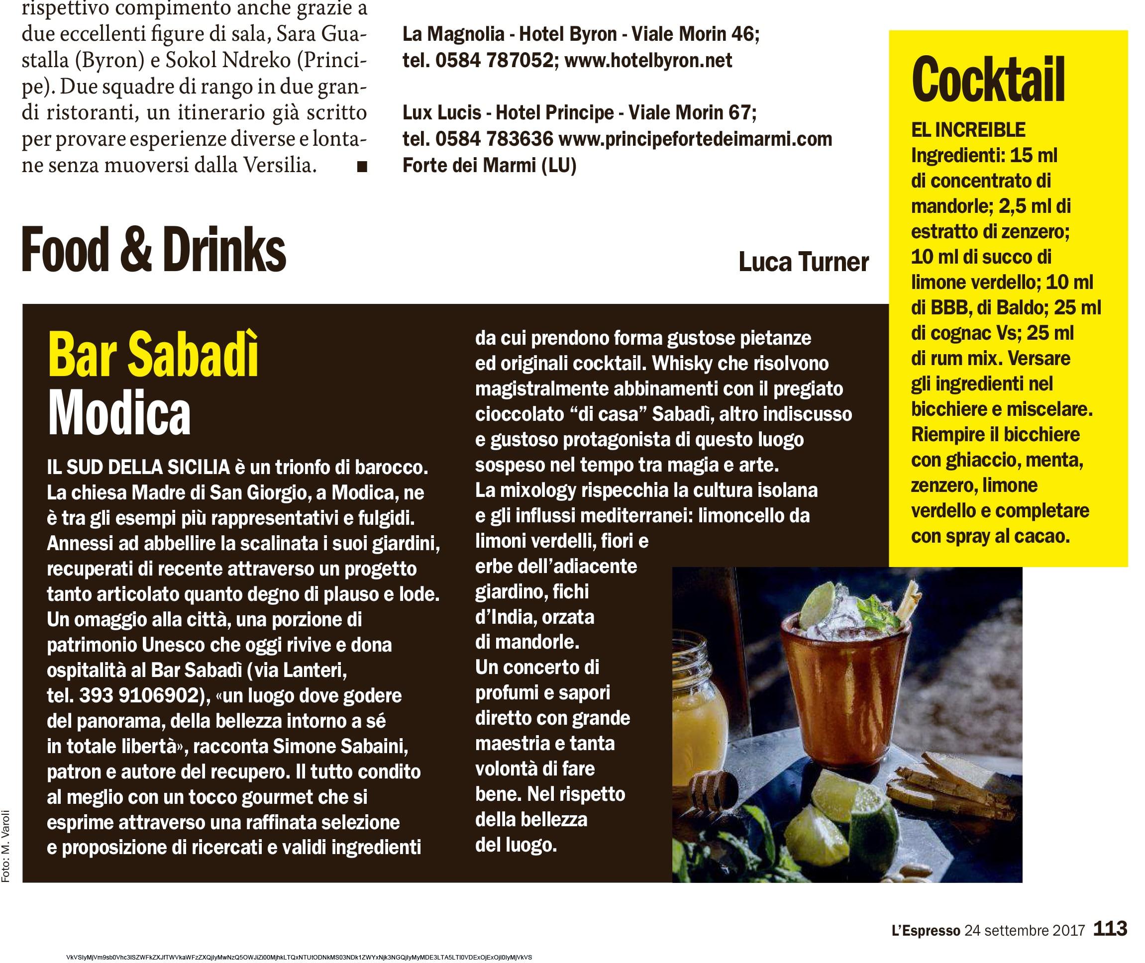 Bar Sabadì - Modica
