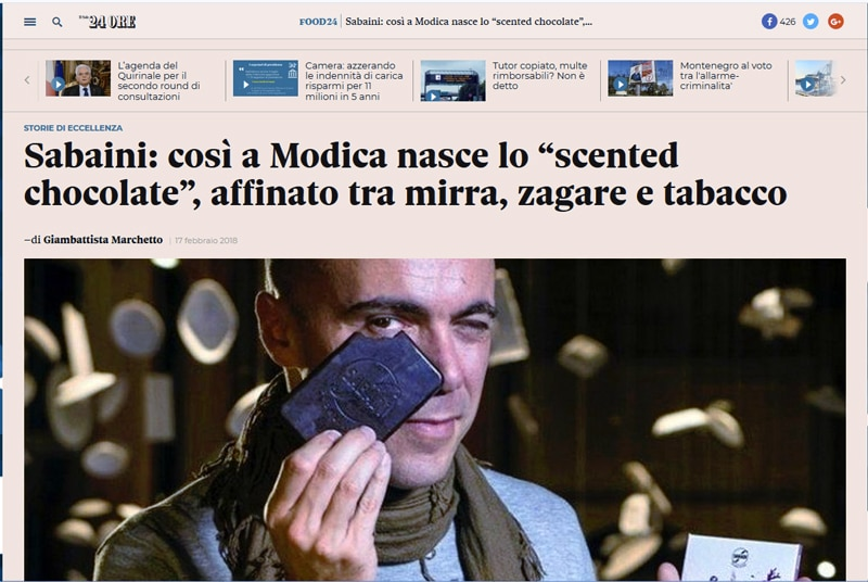 scentes chocolate - il sole 24h